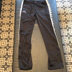 Kappa Pants - Women's Black Kappa Track Pants
